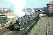 73084 leaves Christchurch for Bournemouth in 1965