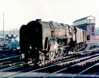 Vol 2: 92089 approaching Shrewsbury, January 1967