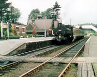 Vol 6: Pannier tank 9669 ready to leave Bala for Bala Junction, 1962