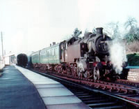 Vol 9: 41283 ready to depart Wellow for Bath (Green Park), 3rd March 1966