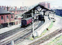 Vol 10: Pannier tank 9621 at Swansea Victoria in May 1964, just before closure