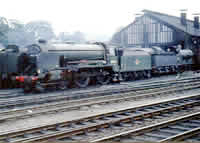 Vol 14: Schools class 4-4-0 30926 on Basingstoke shed, 29th July 1962