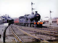 Vol 17: Caley 4-4-0 54465 makes at lovely sight at Forfar, 23rd April 1962