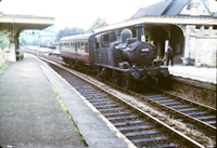 Vol 18: Brimscombe in the summer of 1963 and 1440 is about to head up the Golden Valley to Chalford with an auto-train from Gloucester