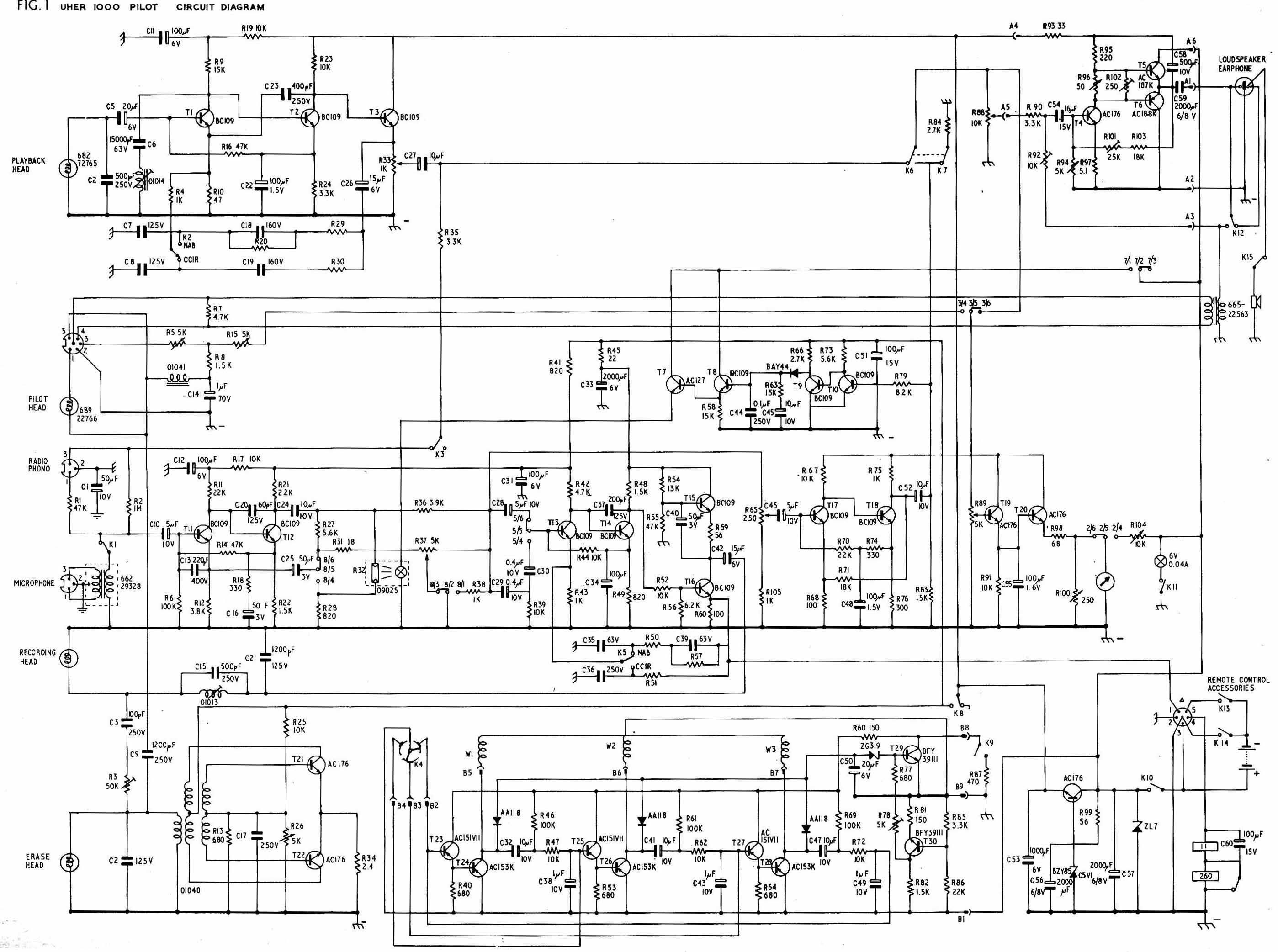 uher circuit diagram